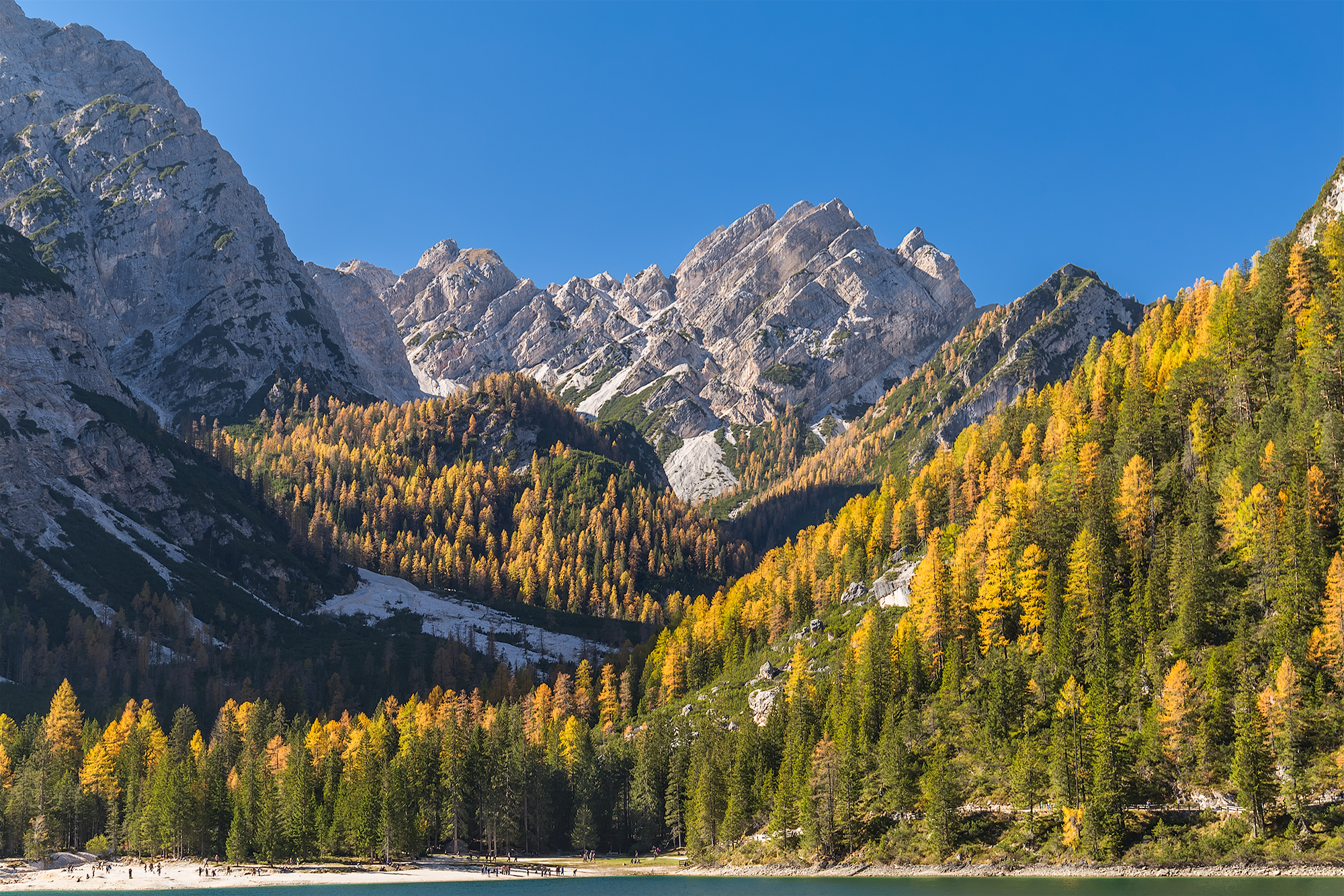 Fall at Braies