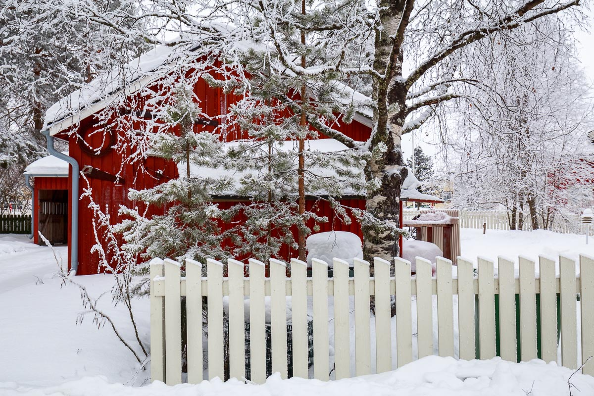 Red House in Ounasvaara